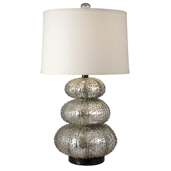 Silver Bubble Table Lamp