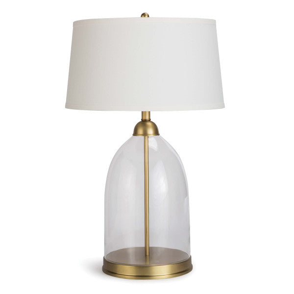 Glass Dome Table Lamp - Hamptons Furniture, Gifts, Modern & Traditional