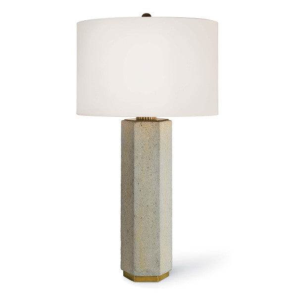 Concrete Table Lamp - Hamptons Furniture, Gifts, Modern & Traditional