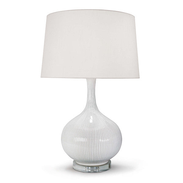 Ivory Ceramic Table Lamp - Hamptons Furniture, Gifts, Modern & Traditional