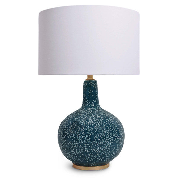 Blue Ceramic Table lamp – English Country Home
