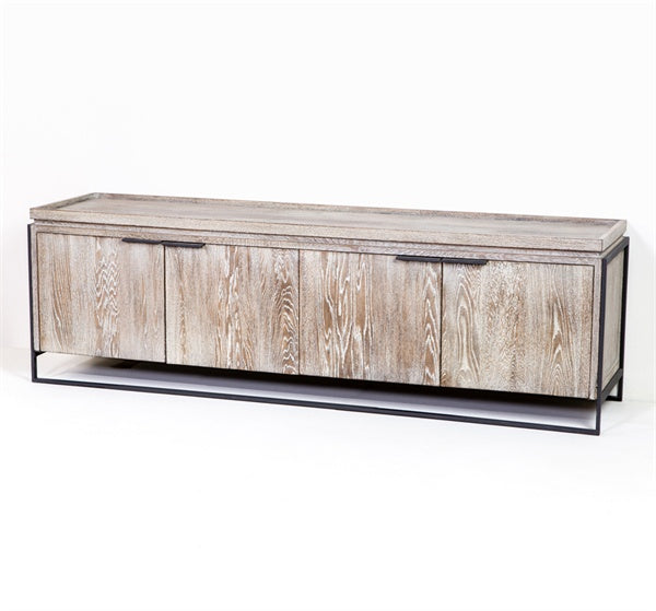 Wood and Iron Low Sideboard