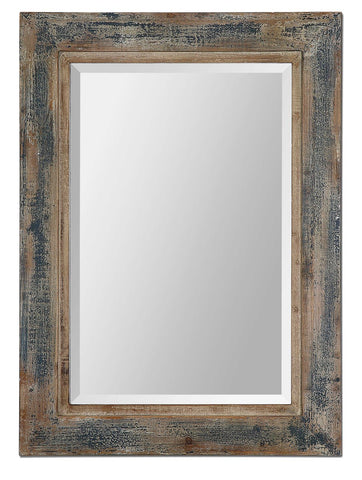 Distressed Reclaimed Wood Mirror
