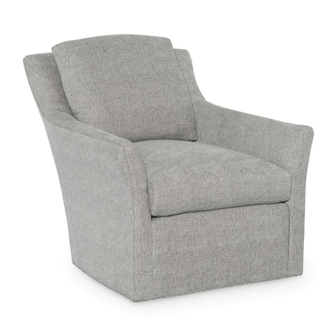 best selling swivel armchair in pale blue