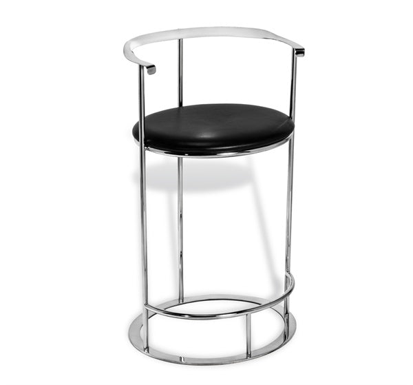 Modern Round Barstool - Hamptons Furniture, Gifts, Modern & Traditional