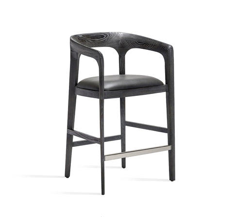 Ash frame counter stool