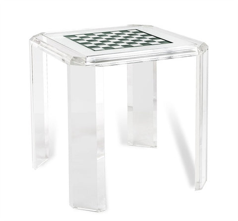 Acrylic & Glass Games Table