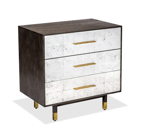 Eglomise Bedside Chest