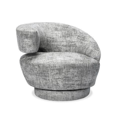 Curved Swivel Chair - Quick Ship