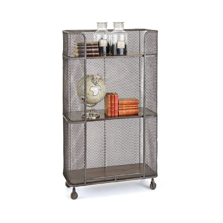 Mobile Shelving Unit - Hamptons Furniture, Gifts, Modern & Traditional