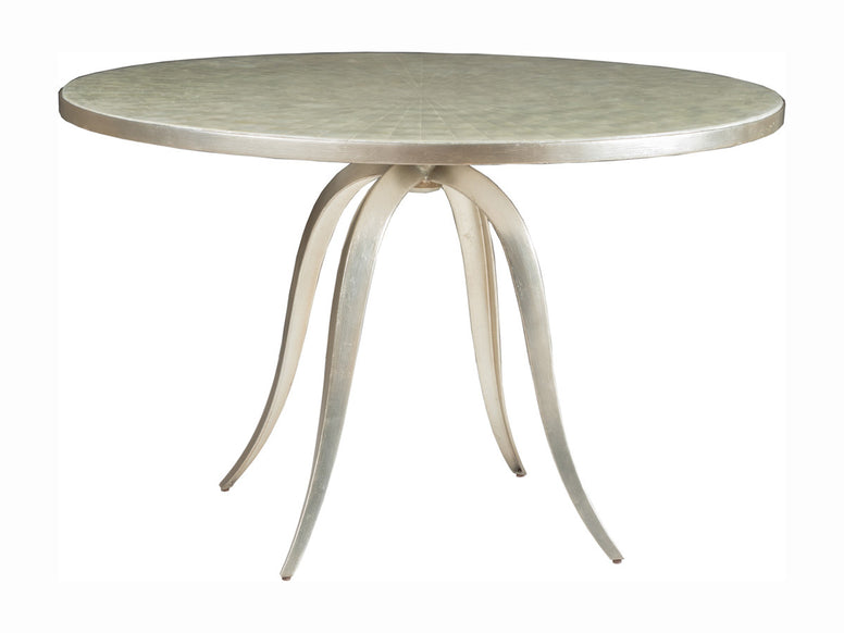 Stylish Small Dining Table with Shell Top