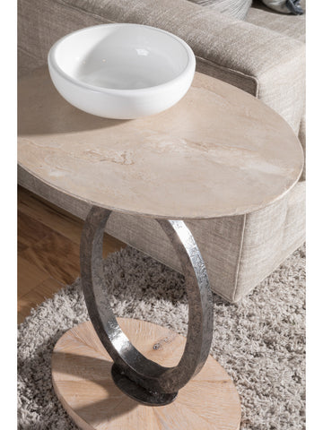 Oval Drinks or Side Table