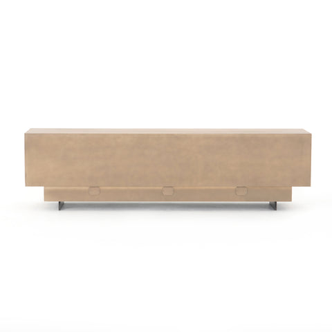 Ashen Walnut Media Console