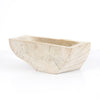 Wood Bowl in Ivory or Ochre