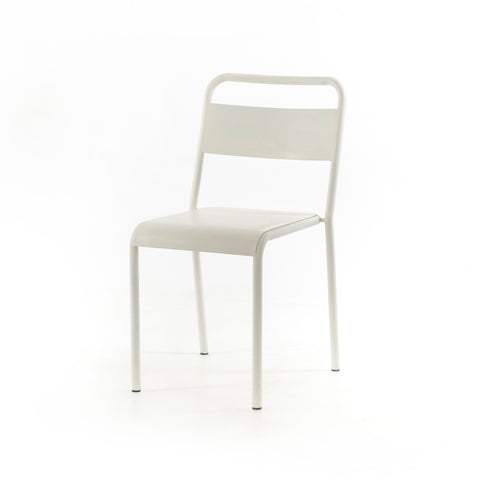 Simple Ivory Dining Chair