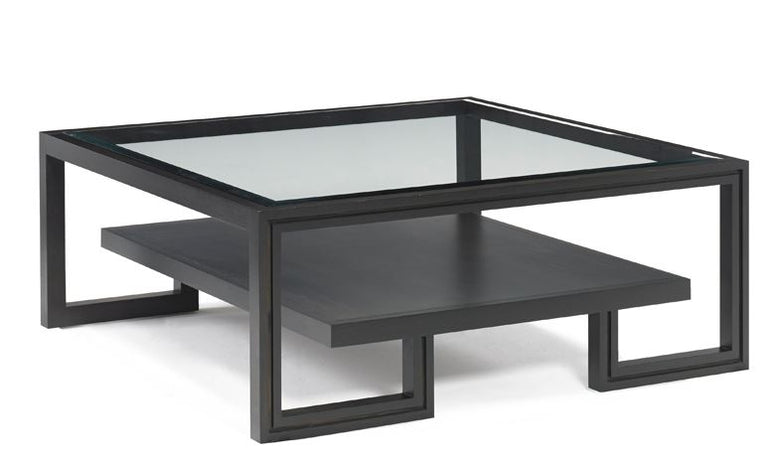 Beveled Glass Cocktail Table - Hamptons Furniture, Gifts, Modern & Traditional