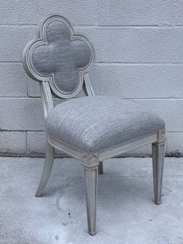 Quatrefoil Side Chair