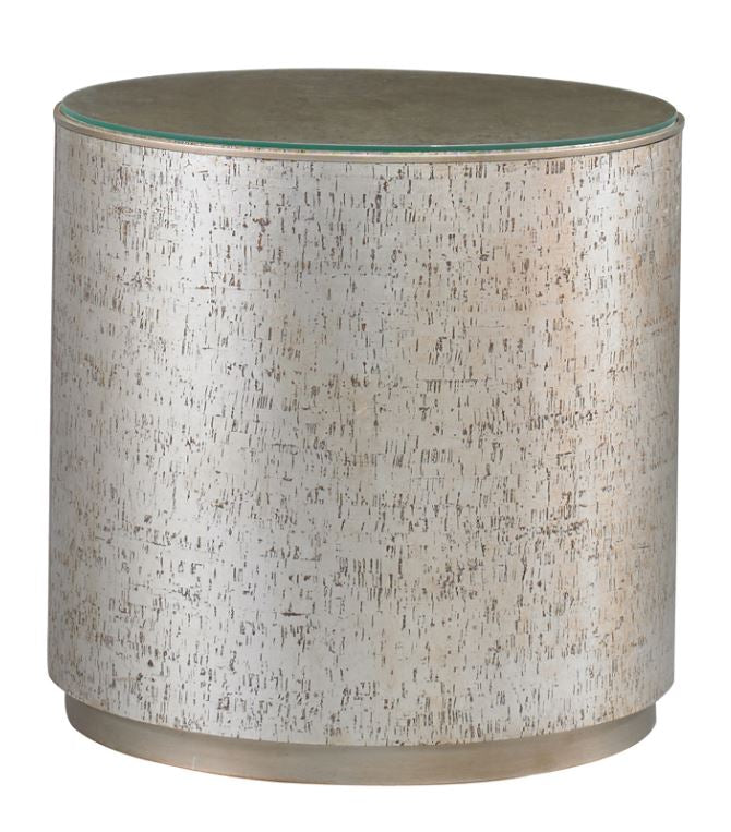 Round Cork Side Table - Hamptons Furniture, Gifts, Modern & Traditional