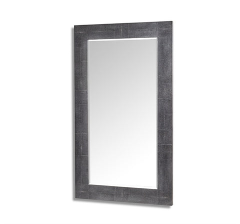 Large Faux Shagreen Floor Mirror