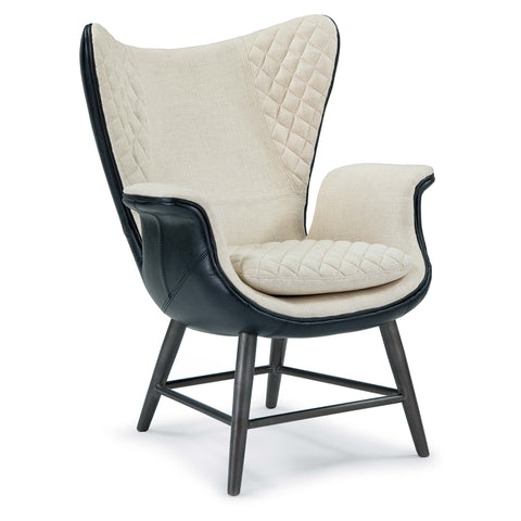 Quilted Wingback Arm Chair