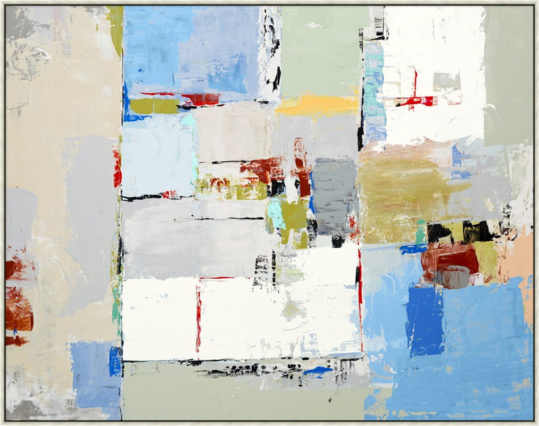 Large Abstract Rectangle Paintings