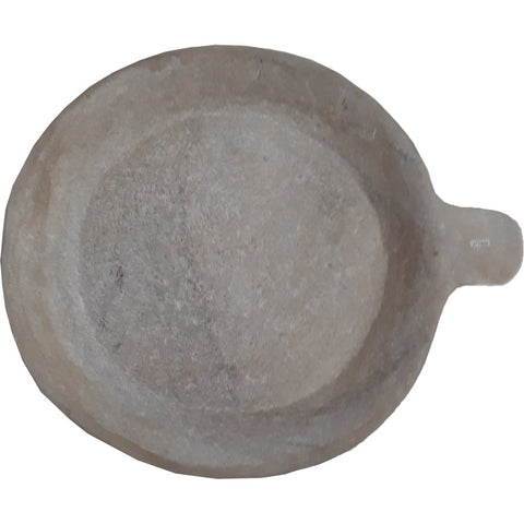 tribal plate in marble