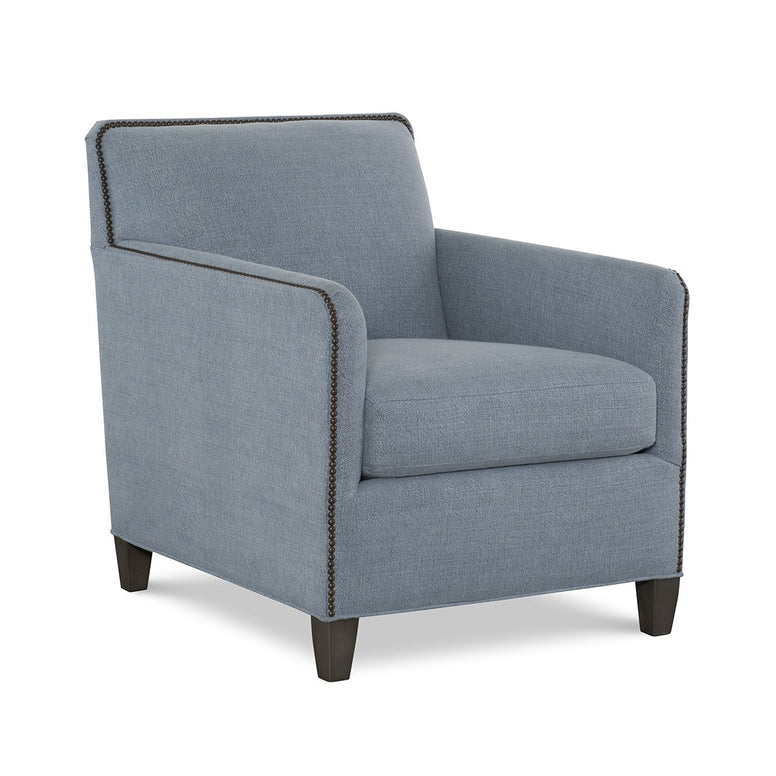 Armchair with nail head detail - Hamptons Furniture, Gifts, Modern & Traditional