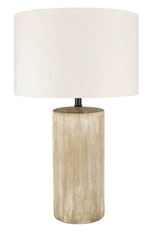 Table Lamp with Ceramic Body - Hamptons Furniture, Gifts, Modern & Traditional