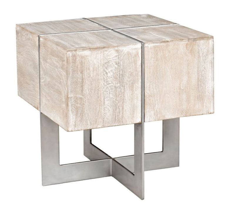 Side Table with Modern Styling
