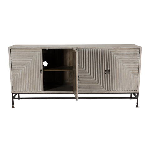 72 inch 4 door sideboard