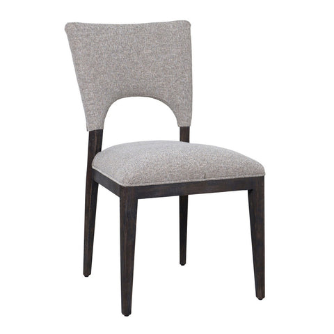 Grey Upholstered Dining Chair - Hamptons Furniture, Gifts, Modern & Traditional