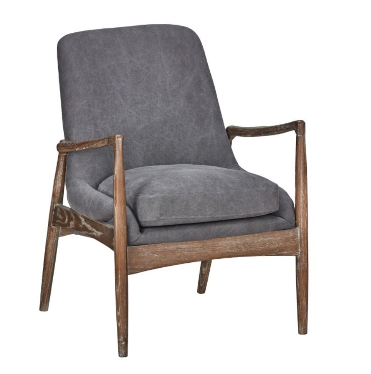 Poplar Wood Club Chair