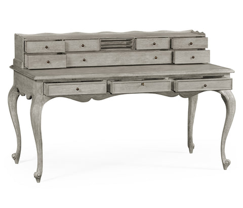 Grey Oak French Style Desk