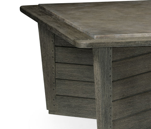 Outdoor Coffee Table with Stone Top - Hamptons Furniture, Gifts, Modern & Traditional