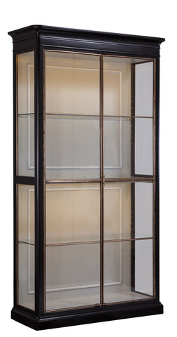 Glass and Painted Wood Etagere - Hamptons Furniture, Gifts, Modern & Traditional
