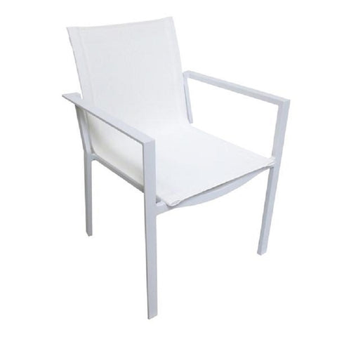 Outdoor Mesh Dining Chair - Hamptons Furniture, Gifts, Modern & Traditional