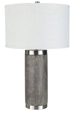 Charcoal Table Lamp - Hamptons Furniture, Gifts, Modern & Traditional