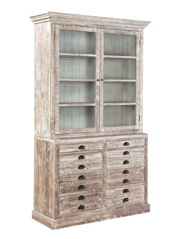 Recycled Fir Apothecary Cabinet - Hamptons Furniture, Gifts, Modern & Traditional