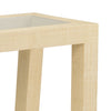 Grasscloth Modern Console - Hamptons Furniture, Gifts, Modern & Traditional