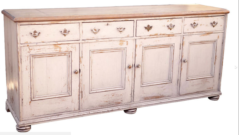 Long Painted Sideboard