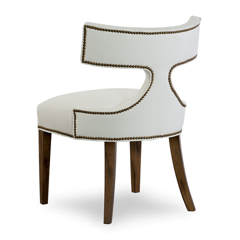 Curved T back Dining Chair
