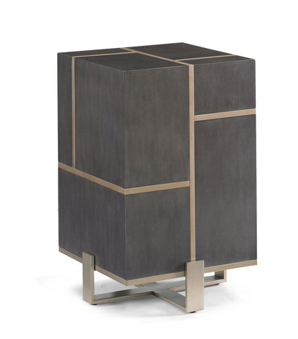 Modern Style Walnut Side Table - Hamptons Furniture, Gifts, Modern & Traditional