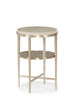 Modern Side Table in Silver and Grey - Hamptons Furniture, Gifts, Modern & Traditional