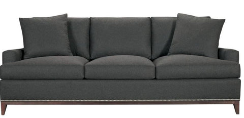 Luxury Sofa, Squared Track Arm, 3 over 3