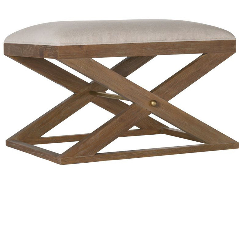 X base Oak Stool - Hamptons Furniture, Gifts, Modern & Traditional