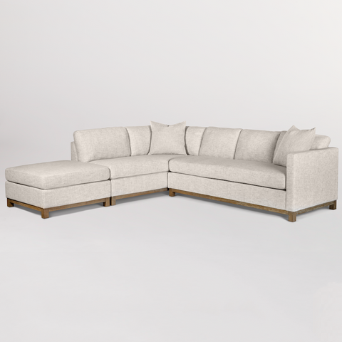 Sofa and Chaise Sectional - Hamptons Furniture, Gifts, Modern & Traditional