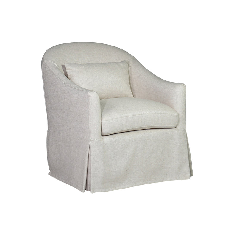Swivel Glider Armchair - Hamptons Furniture, Gifts, Modern & Traditional