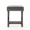 Upholstered X-base Stool