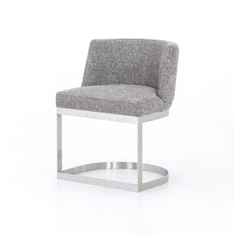 Curved Modern Dining Chair