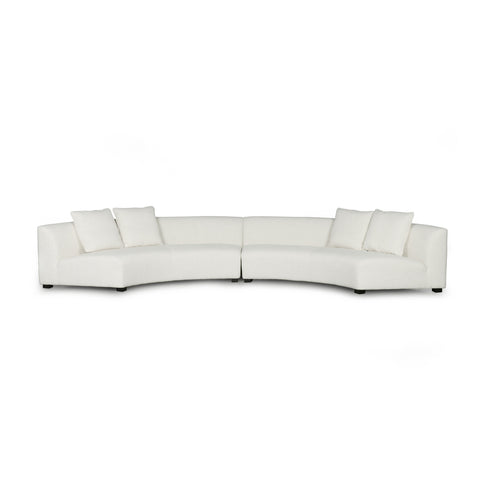 Crescent Shaped Sectional